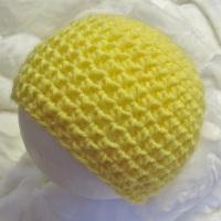 Bonnet citron pour bébé