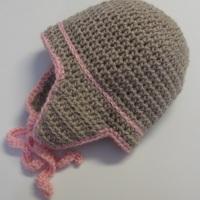 Bonnet péruvien au crochet pour enfants de 2 à 5 ans