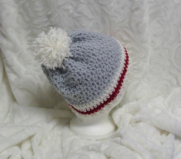 Bonnet style bas de laine pour femme
