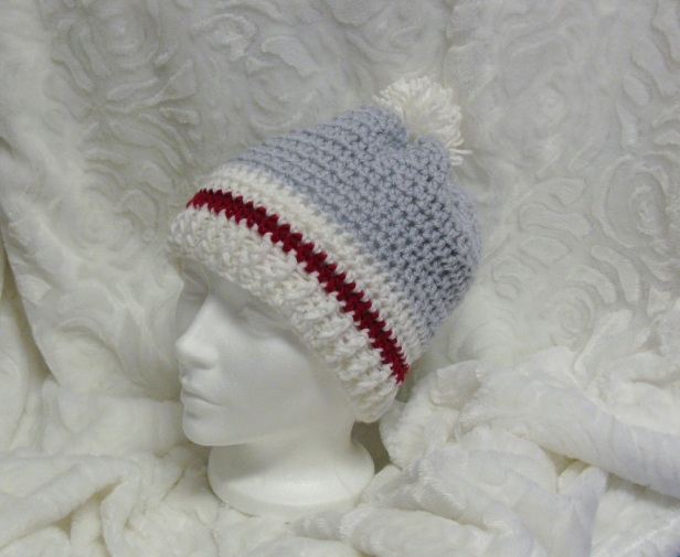 Bonnet style bas de laine pour femmes